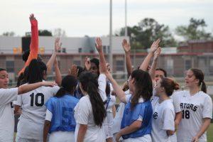 Girls' JV Soccer vs Fort D