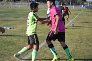 JV Boys' Soccer Practice