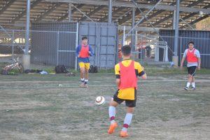 V Boys' Soccer Practice