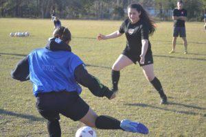JV Girls' Soccer