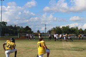 JV Football Practice