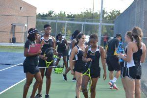 Girls Tennis vs. Fort D