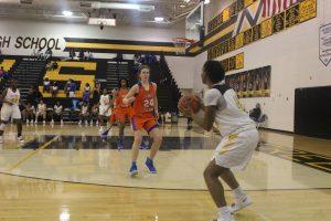 Girls Varsity Basketball VS JI