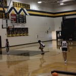 Varsity Girls Basketball Practice