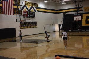 Varsity Girls Basketball Practice