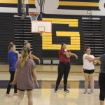 Varsity Softball Practice 4/9/19