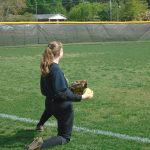Girl's Junior Varsity Softball Practice