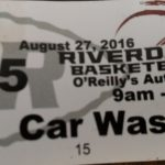 Car Wash – August 27 – O'Reilly's Auto Parts
