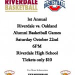 Oakland vs Riverdale Alumni Basketball Game – October 22nd