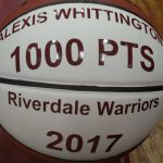 Whittington reaches 1,000 points