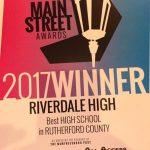 Best High School Winner – Riverdale High
