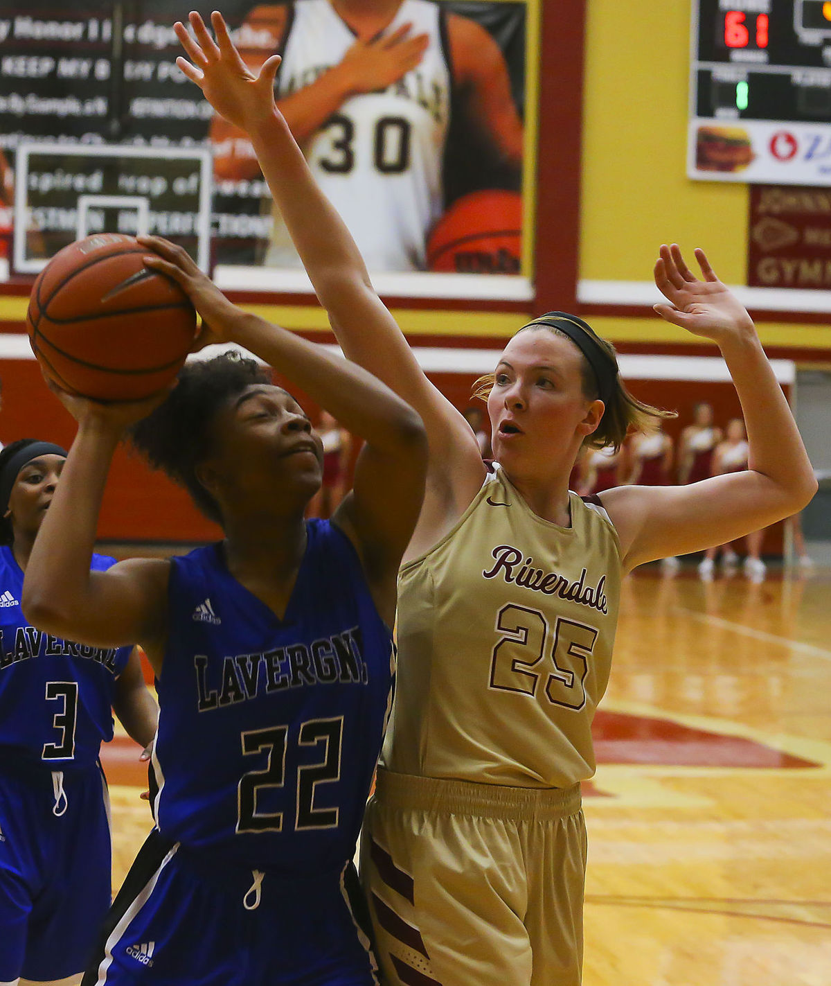 Riverdale takes two district games from La Vergne