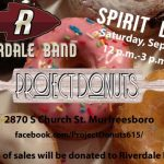 Saturday Visit Project Donuts for The Band!