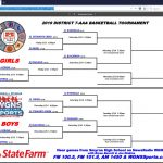 2019 7AAA Basketball District Brackets