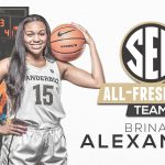 Congratulations to Former Lady Warrior Brinae Alexander – ALL-SEC Freshman Team