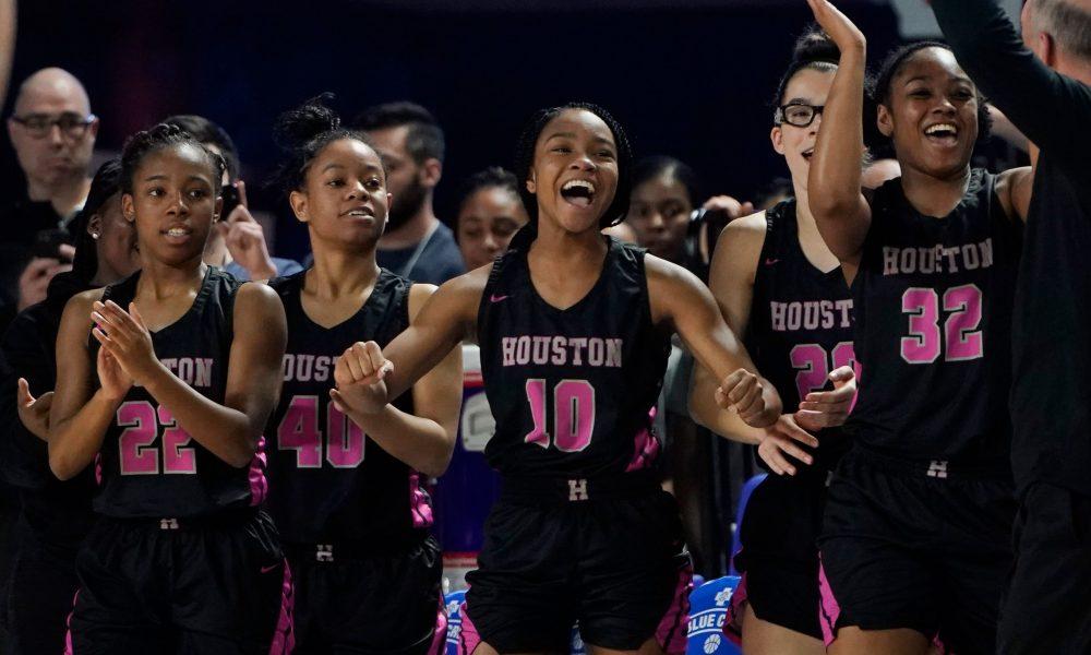Houston girls basketball eliminates three-time defending champ Riverdale in double OT