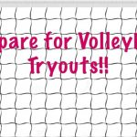 2019 Volleyball Team Tryouts