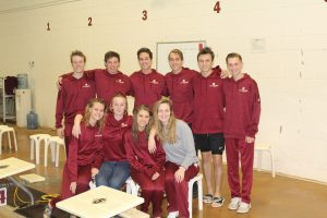 Swim Team wins Division with win over Siegel