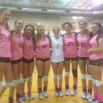 Davis High School Girls Varsity Volleyball beat Viewmont High School 3-2
