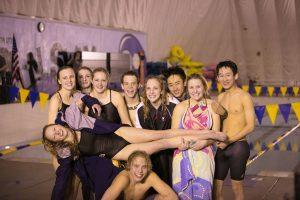 Davis Swim Senior Night