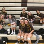 Girls Varsity Volleyball sweeps Northridge