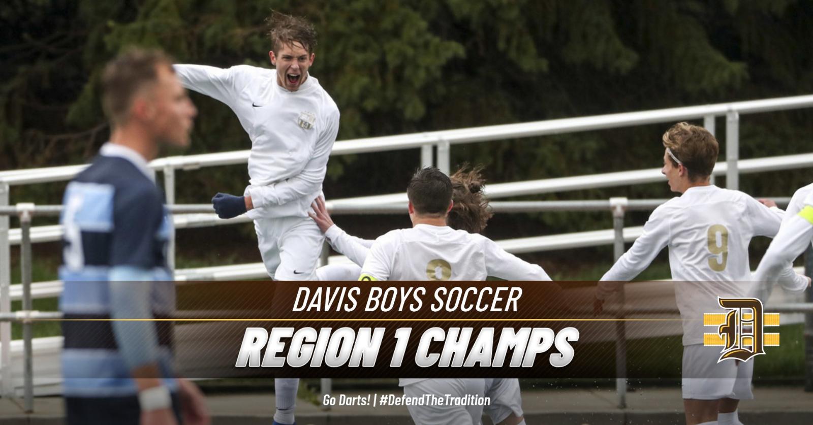 DAVIS SOCCER – REGION 1 CHAMPS