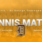 Girls Tennis heads to St George for a Tournament this weekend