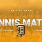 Girls Tennis vs Weber Today