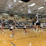 Girls Varsity Volleyball falls to Syracuse 3 – 1