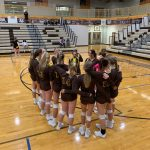 Girls Varsity Volleyball beats Clearfield 3 – 0