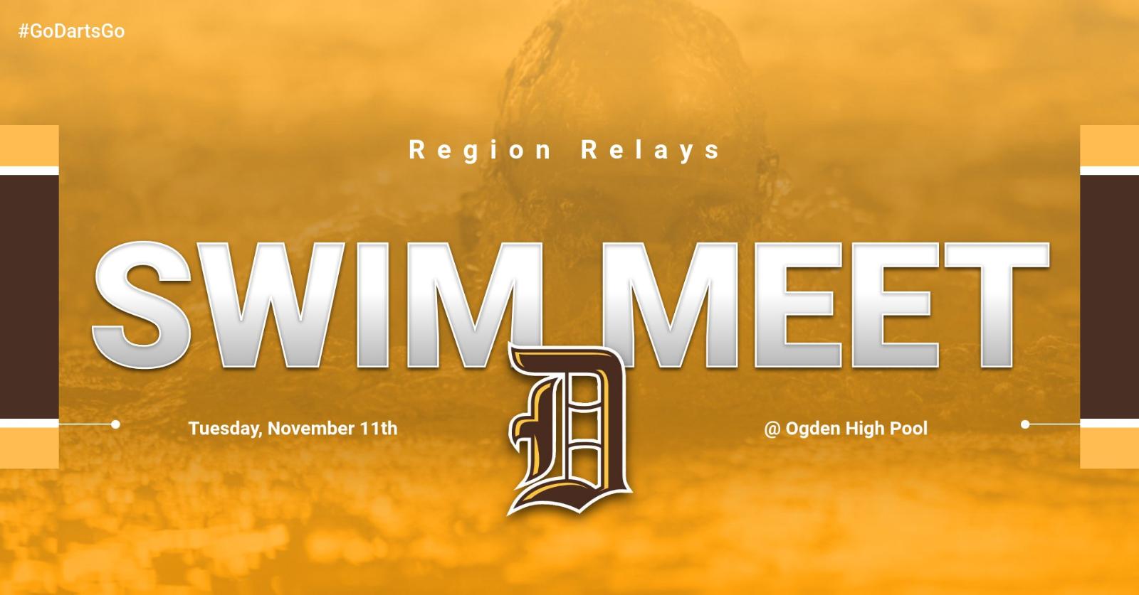 Davis Swim @ Region Relays on Tuesday!!!