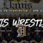 Wrestling Meet today vs Farmington & Mtn Ridge