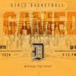 Girls Basketball at Granger today!!