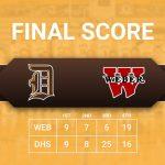 Davis Boys Basketball beats Weber