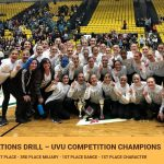 Drill wins Utah Valley University Competition 1/5/20
