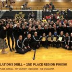 Drill takes 2nd Place Region 1
