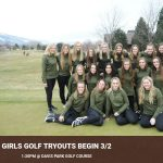 Girls Golf Tryouts 2020