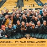 Drill Finishes 5th Place at State Finals!