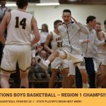 Boys Basketball – Region 1 Champs!!