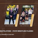 Congratulations State Wrestlers!!