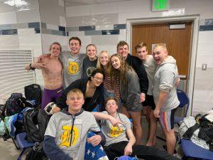 Davis State Swim Championship 2019-2020