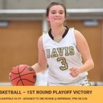 Girls Basketball Advances to 2nd Round State Playoffs