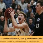 Boys Basketball Advances to Quarterfinals, 2/26