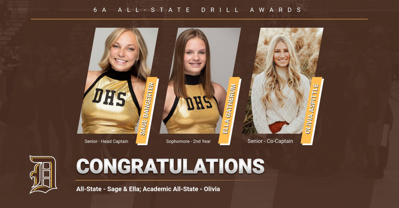 Drill All-State Awards