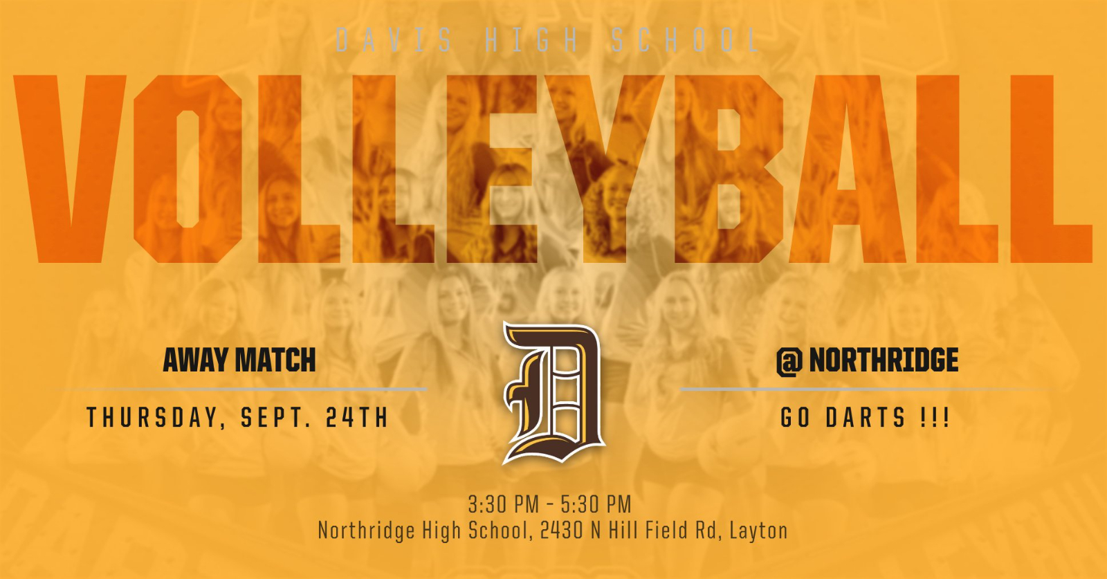 Volleyball @ Northridge Today
