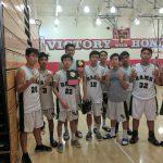 Temple City High School Boys Sophomore Basketball Frosh beat La Canada High School 55-40