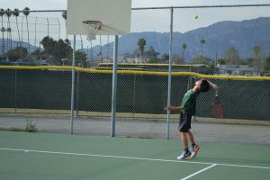 TCHS Boys Tennis Defeat San Gabriel: March 2, 2017