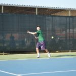 Temple City High School Boys Varsity Tennis falls to San Marino High School 15-3