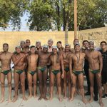 Temple City High School Boys Varsity Water Polo beat South Pasadena High School 9-7