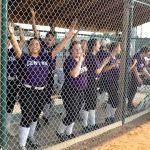 Omaha Central High School Varsity Softball beat Bellevue West Senior High School 2-1